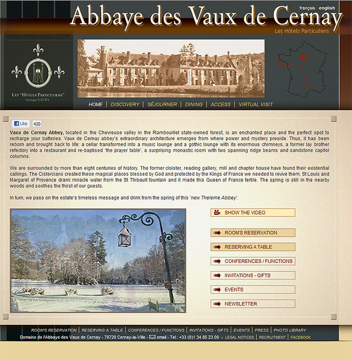 Abbey of Vaux de Cernay